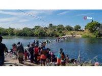 10 bini aşkın göçmen köprü altında bekliyor