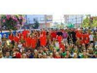 Alanyaspor, Rus Okulunda öğrencilerle bir araya geldi