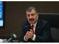 """Sağlık Bakanı Koca: """"Bolu'da ikinci doz aşı oranı yüzde 75'in üzerine çıktı"""""""