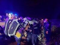Bilecik'te iki araç kafa kafaya çarpıştı: 4 yaralı