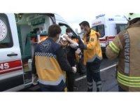TEM'de yağmurda aşırı hız dehşeti: 4 yaralı