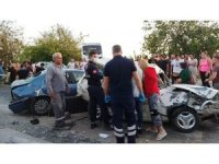 Antalya'da 7 aracın karıştığı kazada ortalık savaş alanına döndü: 1 ölü, 8 yaralı