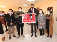 Diyadin'de resim sergisi açıldı