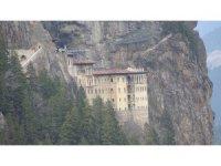 Sümela Manastırı'nda restorasyon çalışmalarında sona gelindi