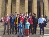 Işığım Sen Ol Derneği'nce Ankara ve Çanakkale gezisi düzenlendi