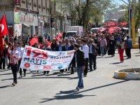 Ağrı'da ''Gençlik Haftası'' yürüyüşü düzenlendi