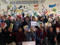 Antalyalı öğrencilerden Ağrı'daki öğrencilere anlamlı yardım