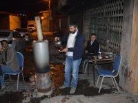 Ağrı'da Ramazan ayında semaver çayı içiliyor
