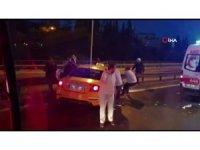 15 Temmuz Şehitler Köprüsü'nde kaza: 2 yaralı