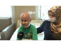 11 yaşındaki lösemi hastası Eren Tumur ilik nakli bekliyor