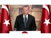 Cumhurbaşkanı Erdoğan uluslararası medya mensuplarıyla bir araya geldi