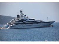 Katar emirinin 300 milyon dolar değerindeki yüzen sarayı Bodrum'da