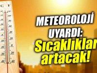 Ağrı'da Hava Sıcaklığı Artıyor