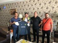 Ağrıspor'dan Ağrılı İşadamı Hasan İpek'e Ziyaret