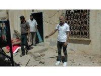 Suriye'den atılan roket aileyi çay içerken yakaladı