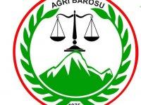"""Ağrı Barosu'ndan açıklama """"Belediye başkanları görevlerine iade edilmelidir"""""""