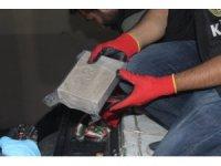 Gürbulak'ta 233,9 kilogram eroin ele geçirildi