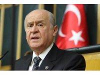 """Bahçeli'den CHP'ye sert sözler: """"CHP hemen öne çıkıp PKK'ya siper olmuştur"""""""