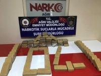 Ağrı'da 35 Kg Eroin Ele Geçirildi