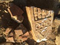 Okul inşaatında yeni tarihi eserler ortaya çıktı