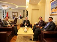 Milletvekili Çelebi'den Rektör Karabulat'a Ziyaret