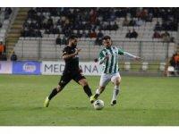 Yeni Malatyaspor deplasmandan puanla döndü