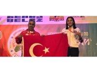 Bediha Taçyıldız 3'üncü kez Avrupa Şampiyonu oldu