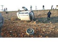 Tekeri kopan araç otomobille çarpıştı: 4 yaralı