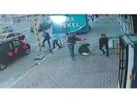 İstanbul'da sokak ortasında dehşet