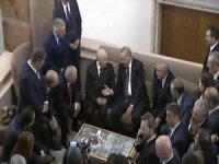 Cumhurbaşkanı Erdoğan MHP Genel Başkanı Devlet Bahçeli ile bir araya geldi