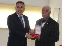 Ağrı'da Kıbrıs Gazilerine Madalya ve Beratları verildi
