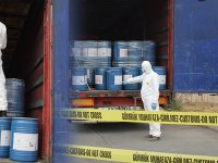 Ağrı Gürbulak sınır kapısında 18,4 ton siyanür yakalandı