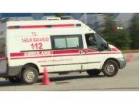 Ambulans şoförleri hünerlerini yarış pistinde gösterdi