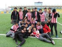 Ağrı'da Genç Erkekler Futbol Turnuvası sona erdi
