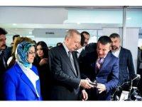 Yerel Yönetimlerde 6. Kadın Şurası'nda Altındağ standını ziyaret etti