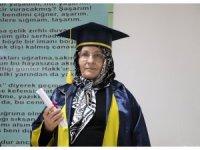 68 yaşında liseyi bitirdi: Hedefi hukuk okumak
