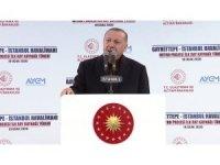 """Cumhurbaşkanı Erdoğan: """"İstanbul'a gerçek hizmet anlamında çağ atlattık"""""""