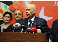 """Bahçeli'den Kılıçdaroğlu'na sert tepki: """"Teröristlerin kimler olduğunu tanımakta zorluk çekiyor"""""""