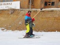 Kayak Merkezinde Ara Tatil Yoğunluğu