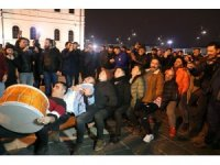 Sivas'ta, Beşiktaş galibiyeti doyasıya kutlandı