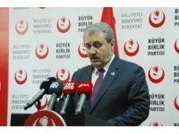 """BBP Genel Başkanı Destici: """"Tezkere çok yerinde olmuştur"""""""