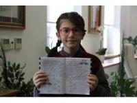 İlkokul öğrencisi matematikte dünya 1'incisi oldu