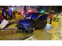 Mersin'de trafik kazaları: 9 yaralı