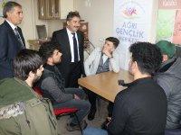 Ağrı GSİM Cihan Demir, Gençlik Merkezini Ziyaret Etti