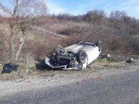 Edirne'de kaçak göçmenleri taşıyan araç kaza yaptı: 8 yaralı