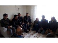 İdlip'te yaralanan askerin ailesine ziyaret