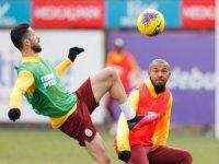 Galatasaray, Gençlerbirliği hazırlıklarını sürdürdü