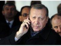 Cumhurbaşkanı Erdoğan, AB Komisyonu Başkanı Leyen ile görüştü