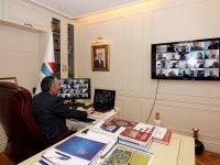AİÇÜ'de Senato Toplantısı Telekonferans Yöntemiyle Yapıldı