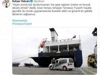 Ticaret Bakanı Pekcan'dan temassız ticaret paylaşımı